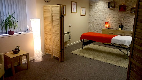 JW Massage Pembrokeshire Room Massage